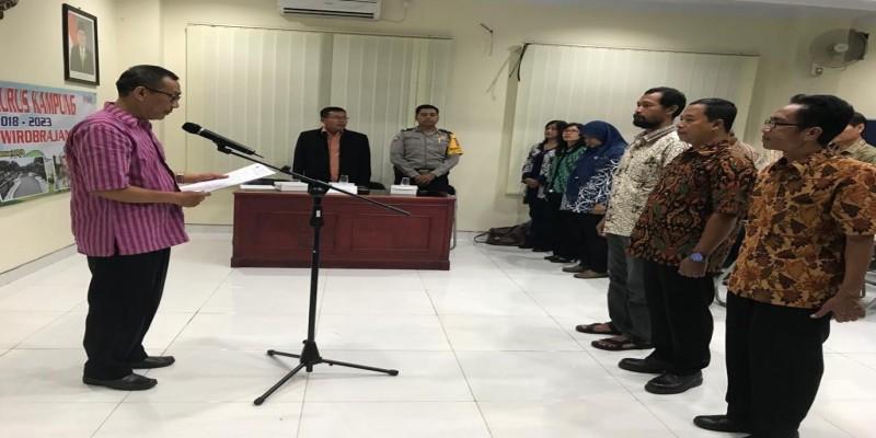 Pengukuhan Pengurus Kampung se- Kecamatan Wirobrajan